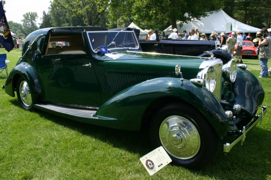1937 Bentley Sedanca Coupe