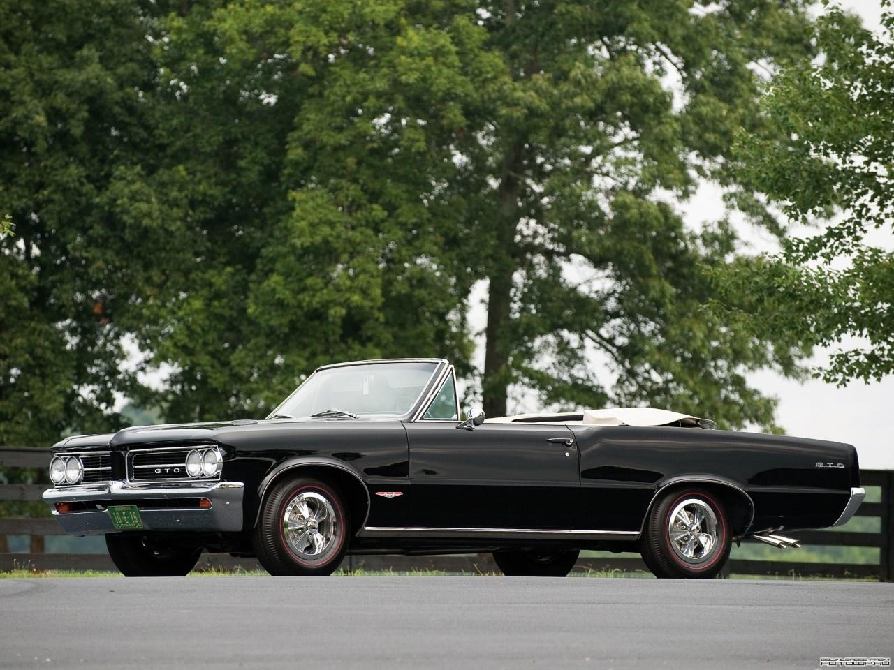 pontiac gto convertible 1964